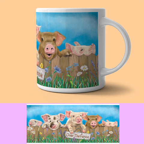 Mug - Over The... Pigs