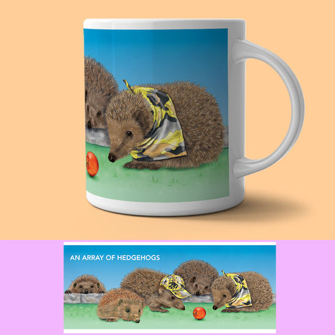 Mug - Collection Of...  Hedgehogs