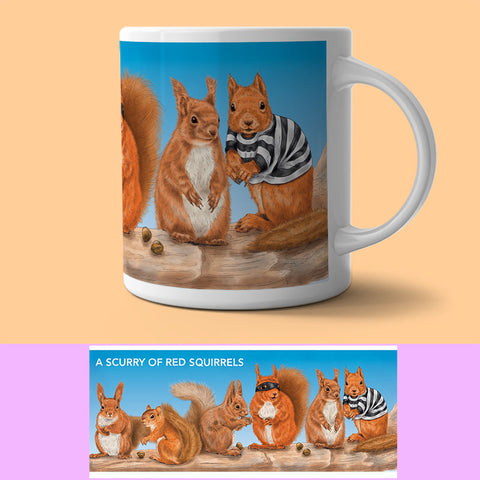 Mug - Collection Of...  Squirrels