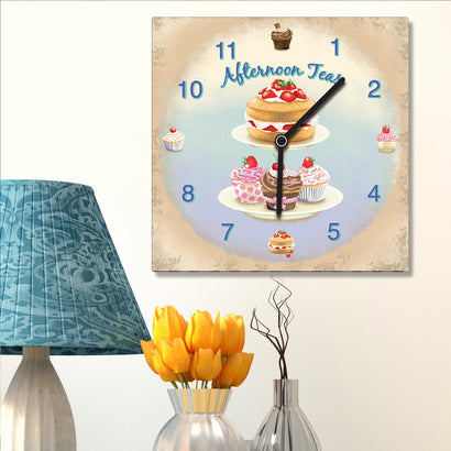 Clock - Afternoon Teas