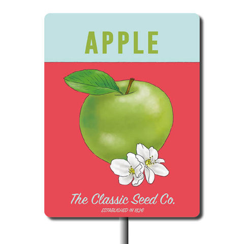 Plant Marker - Apple
