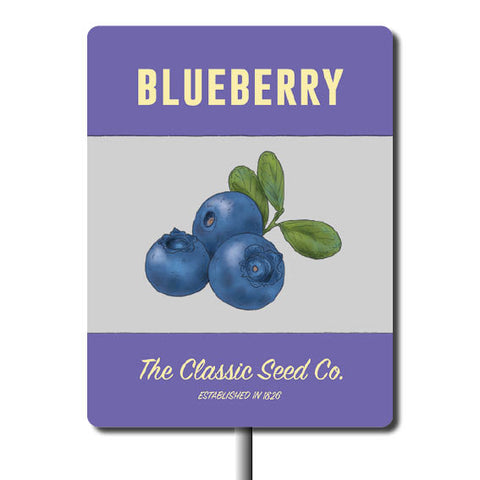 Plant Marker - Blueberry