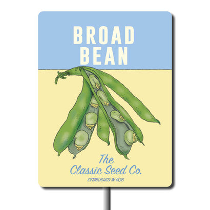 Plant Marker - Broad Bean
