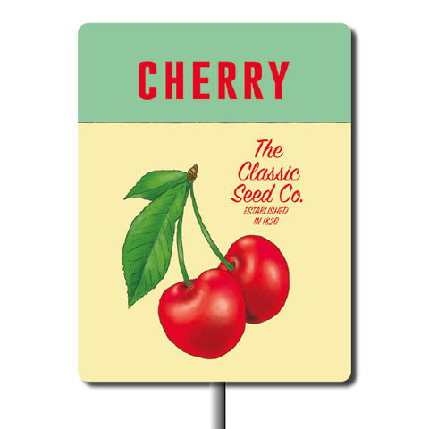 Plant Marker - Cherry