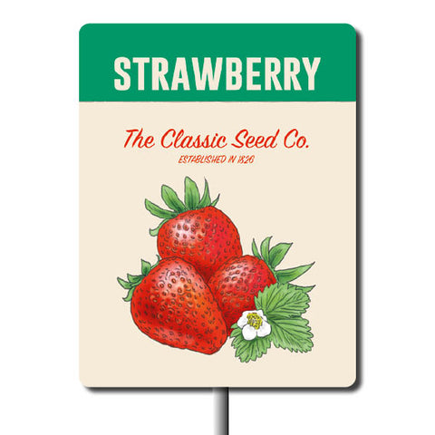 Plant Marker - Strawberry