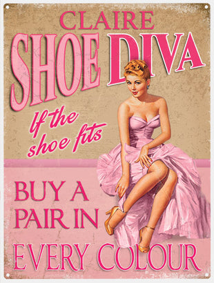 Diva's - Shoe Diva - Personalised