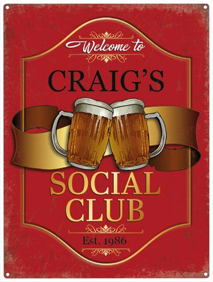 Social Club - Personalised
