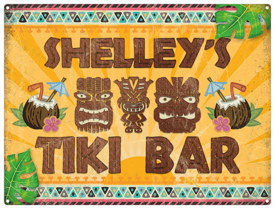Tiki Bar - Personalised