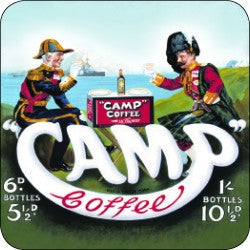 Melamine Coaster - Camp Coffee