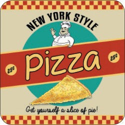 Melamine Coaster - New York Pizza