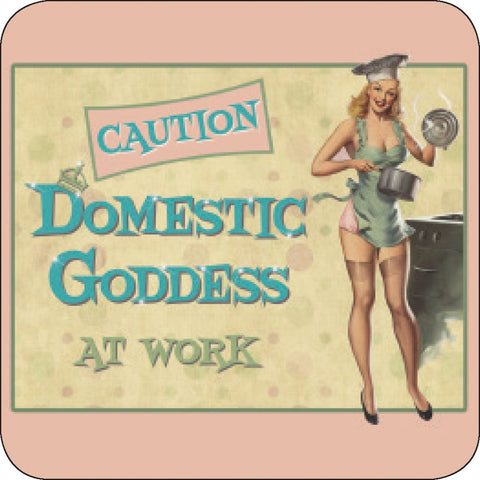 Melamine Coaster - Domestic Goddess