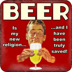 Melamine Coaster - Beer New Religion