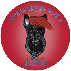 Circular Life Is Better With A Scottie