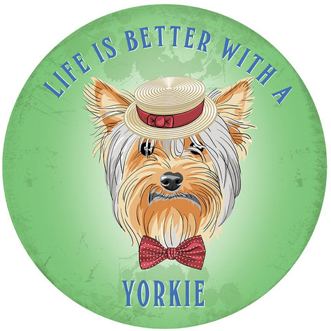 Circular Life Is Better With A Yorkie