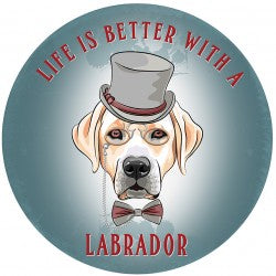Circular Life Is Better With A Labrador