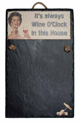 Chalk Board - Wine O' Clock