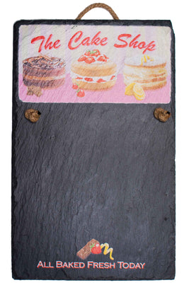 Chalk Board - The Cake Shop