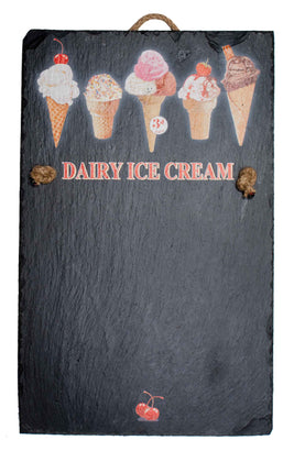 Chalk Board - Dairy Ice Cream