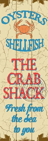 Wooden Sign - Crab Shack