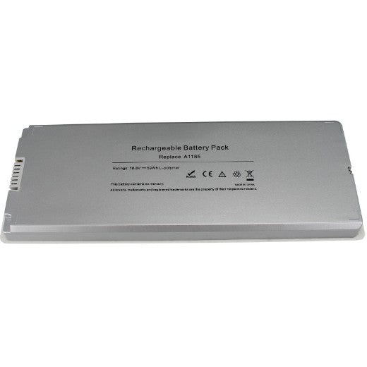"Laptop-Battery-for-  Apple MacBook 13"" 13.3 Inch A1181 A1185 MA561 MA566 White New"