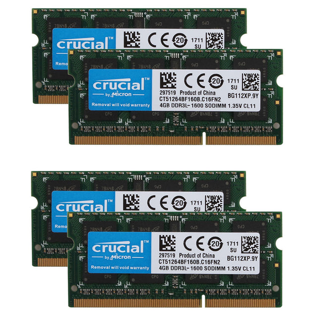 16GB 2x 8GB DDR3 1600 MHz PC3-12800 Sodimm Laptop Memory RAM Kit 16 G GB DDR3