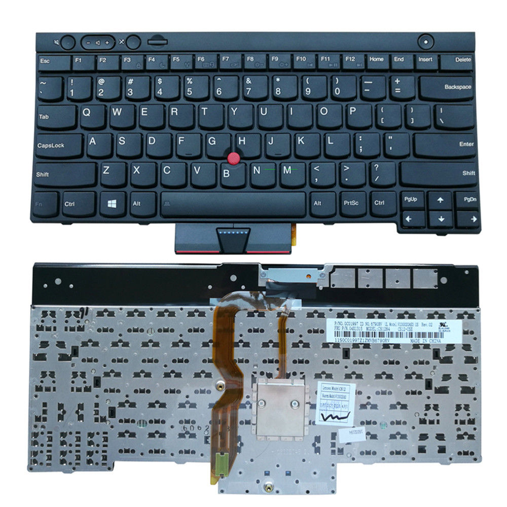 For IBM Lenovo Thinkpad T430 T430I T430S T530 US Laptop Keyboard With  Backlit