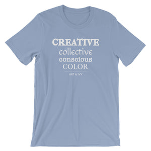 Creative. Collective. Conscious. Color. | White