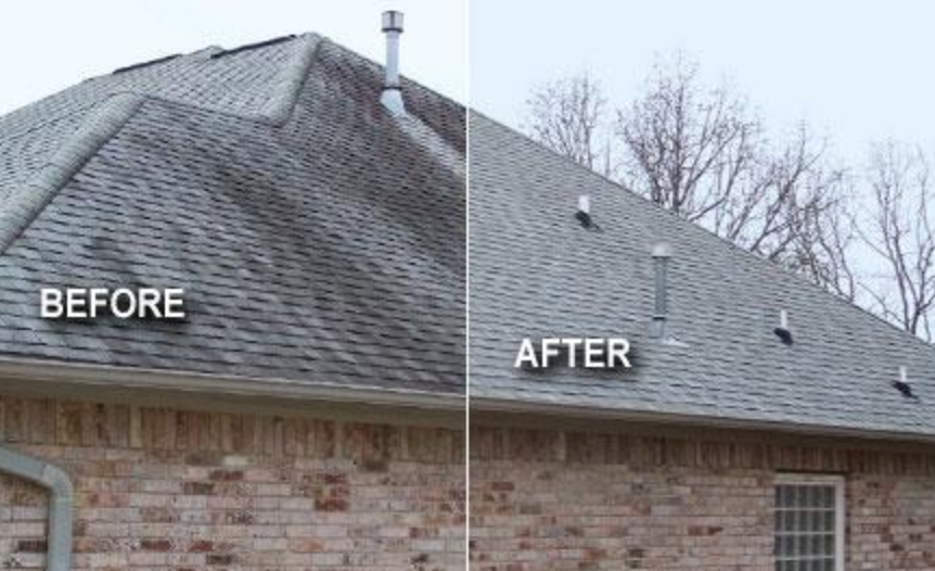 Soft Washing Residential Roof