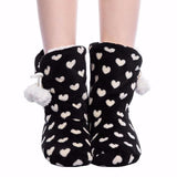 Back & White Easy Slip-on - Novelty Boot Slippers