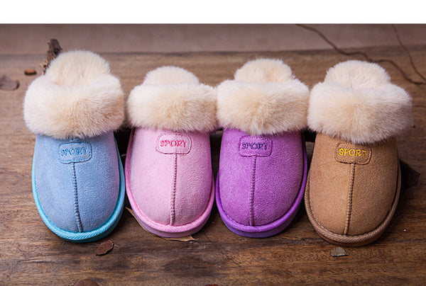 Ugg-Style Adult Fur Novelty Slippers