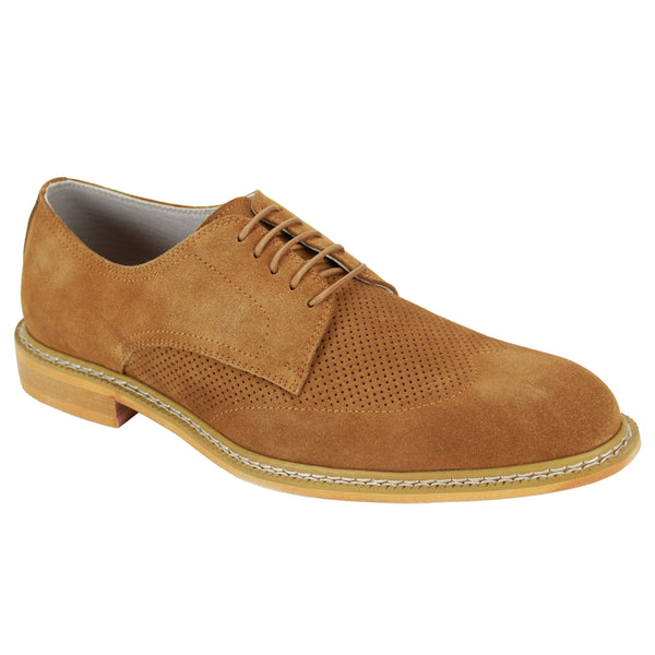 Giovanni Tan Wingtip Shoes