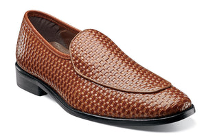 Stacy Adams Santoro Tan Slip Ons