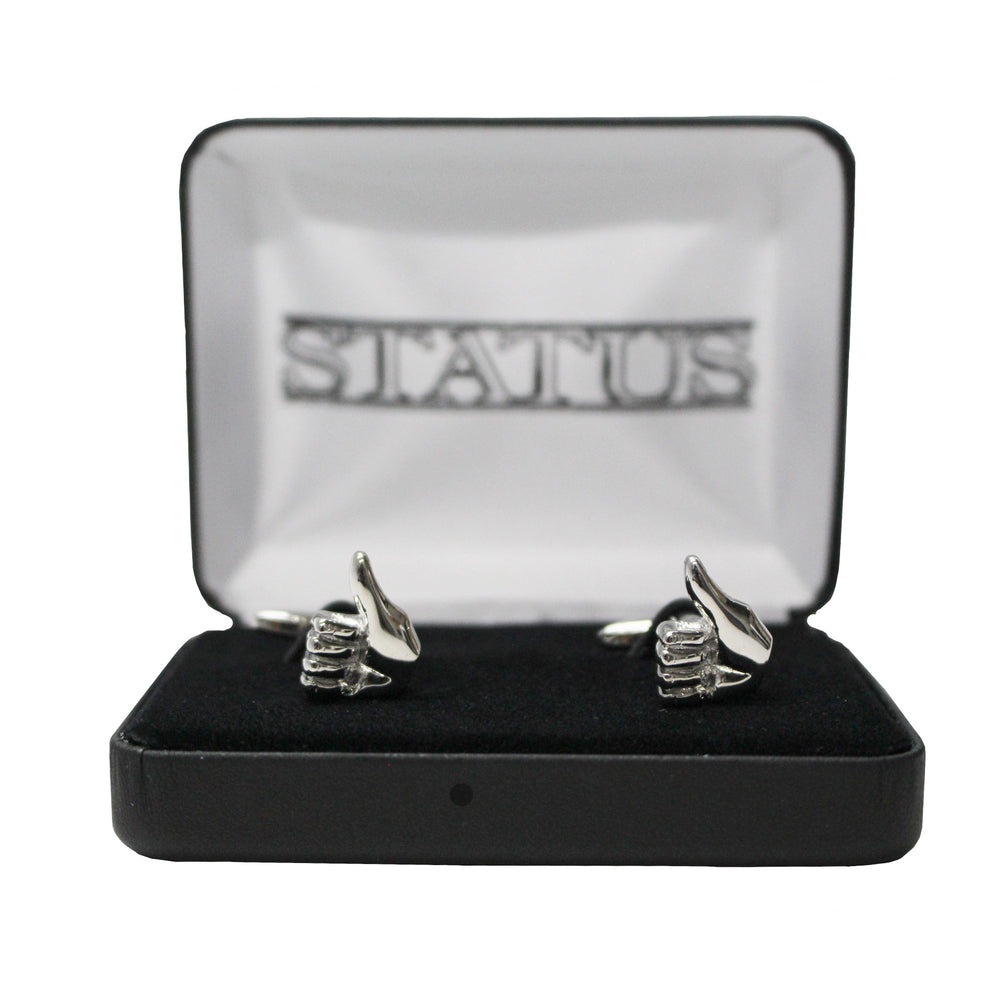 Status Thumbs Up Cufflinks