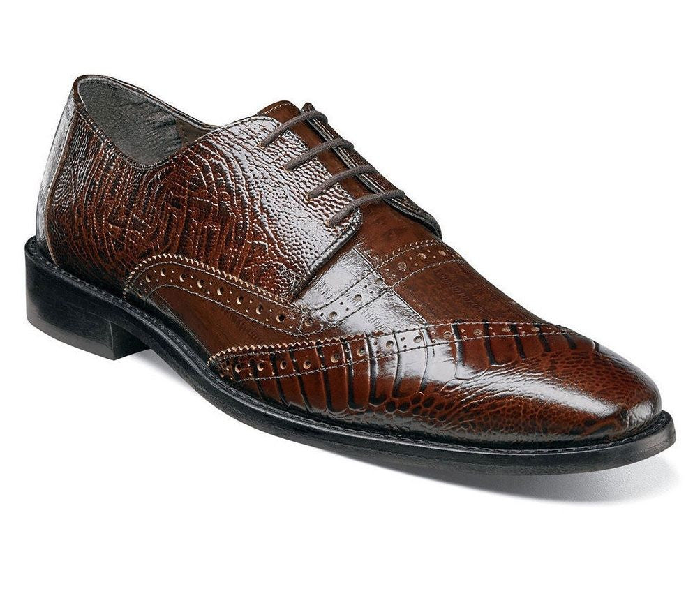 Stacy Adams Garzon Cognac Oxfords