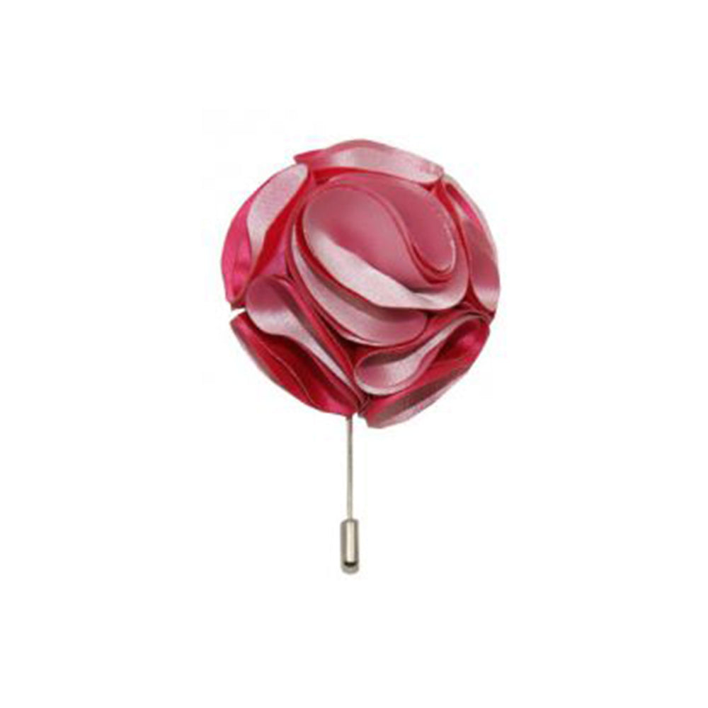 Gianfranco Hot Pink Lapel Rose