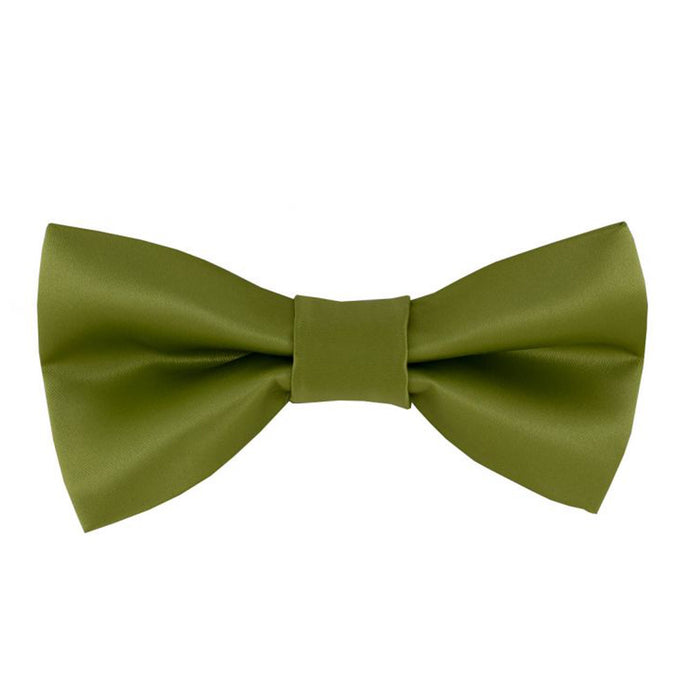 Gianfranco Lime Green Bow Tie and Handkerchief