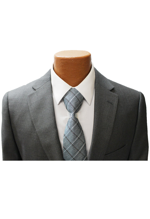 Angelo Rossi Grey Modern Fit Suit