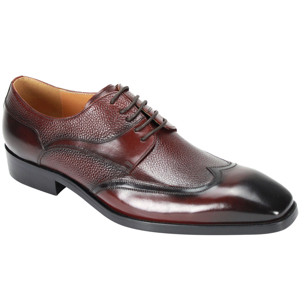 Giovanni 6842 Burgundy Wingtip Dress Shoes