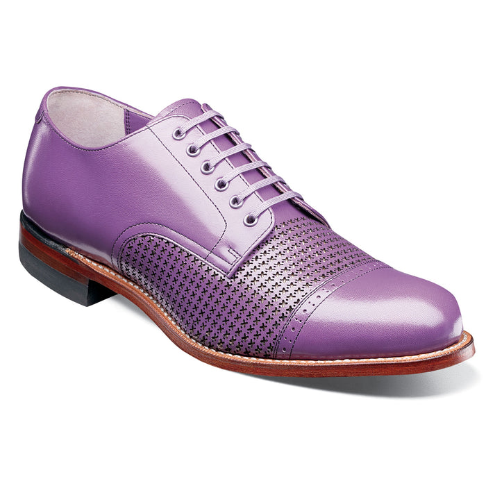 Stacy Adams Madison Lavender Cap Toe Oxford Dress Shoes