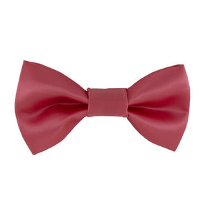 Gianfranco Rose Pink Bow Tie and Handkerchief