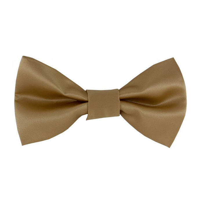 Gianfranco Beige Bow Tie and Handkerchief