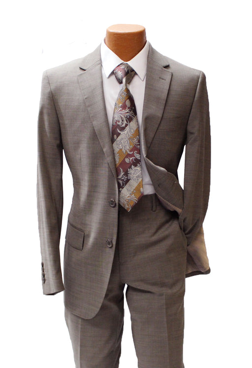 TopLapel Tan Modern Fit Suit