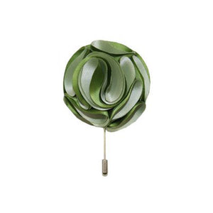 Gianfranco Green Lapel Rose