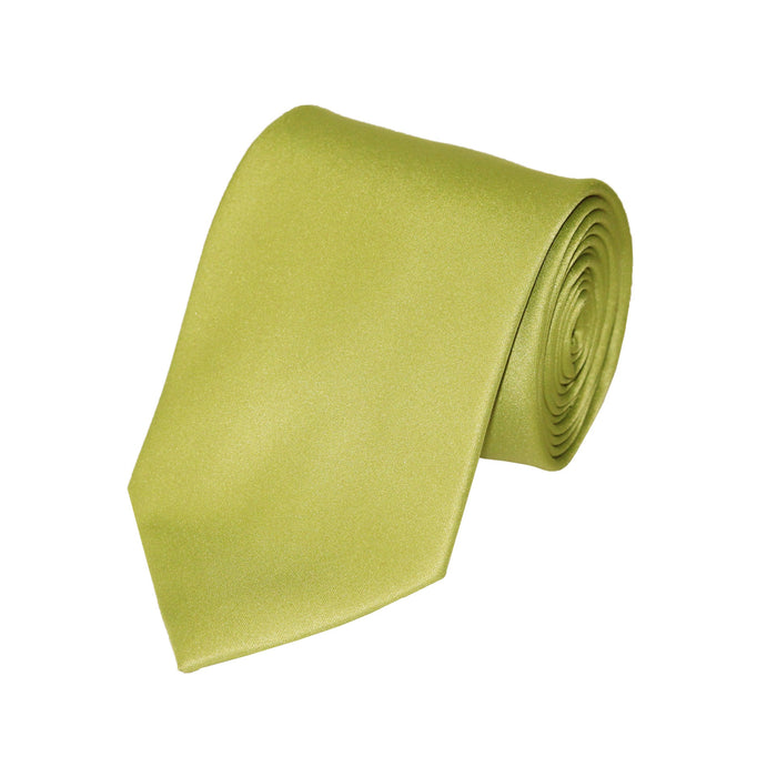 Stacy Adams Solid Lime Tie and Handkerchief