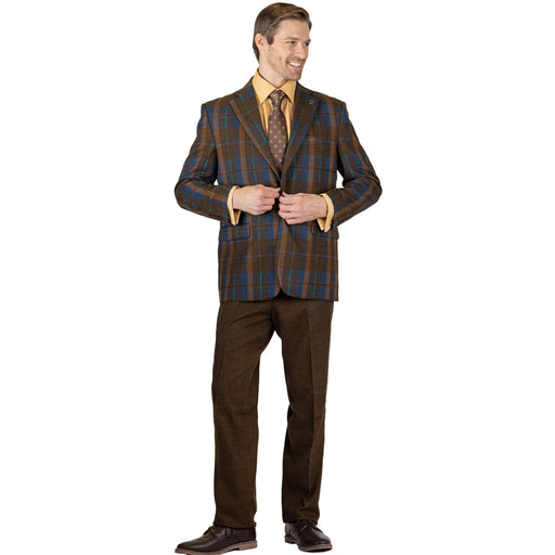 Stacy Adams Dan Mix Vested Classic Fit Suit