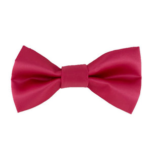 Gianfranco Hot Pink Bow Tie and Handkerchief
