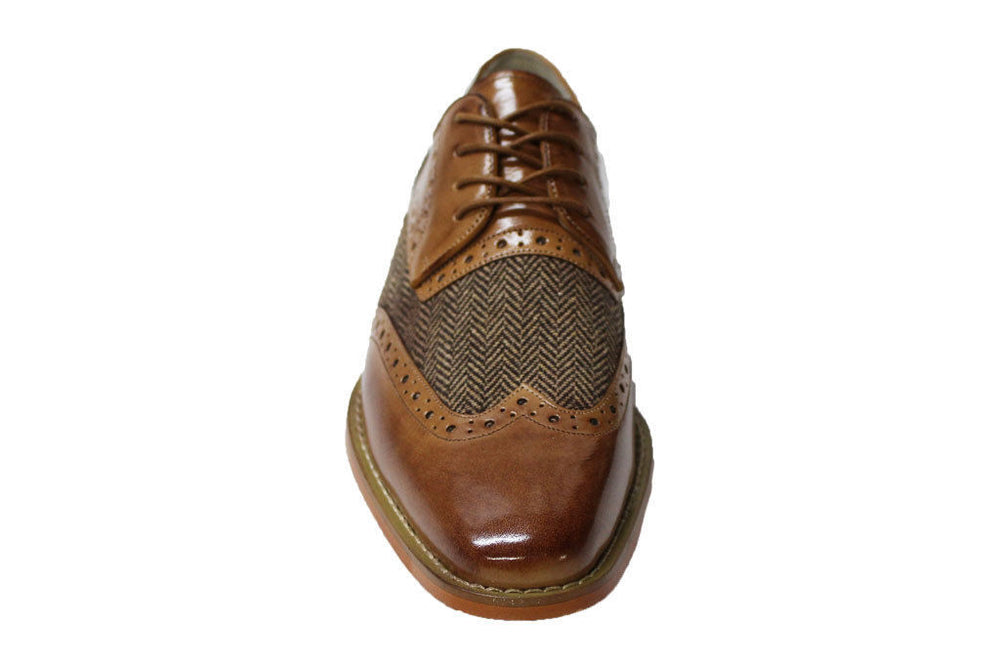 Giovanni Ethan Tan Wingtip Oxford