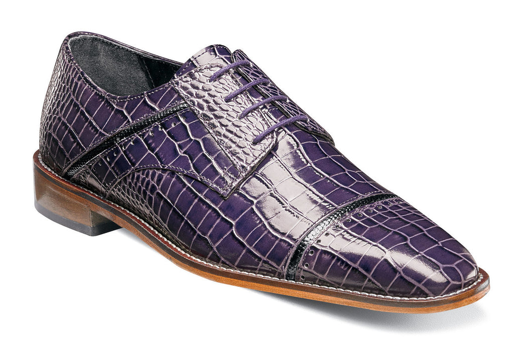 Stacy Adams Raimondo Plum Cap Toe Oxford