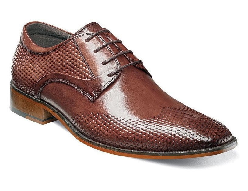 Stacy Adams Kallan Chestnut Plain Toe Oxfords