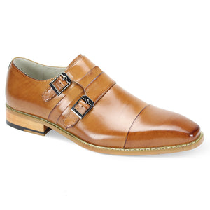 Giovanni Garnet Tan Slip On Shoes